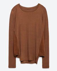 KNIT SWEATER-Sweaters-Knitwear-WOMAN   ZARA United Kingdom