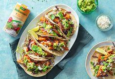 Kip taco's met avocado en knapperige koolsla #Avogelrecepten