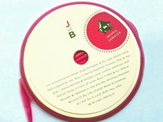 Party favors: A CD with a custom label that includes the bride and groom's initials is a wonderful favor. Include songs from the wedding reception as a reminder of the special day.