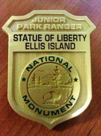Junior Ranger Badge booklet - cool Ellis Island lesson and activities