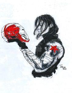 Winter Soldier Stare by Hydraballista