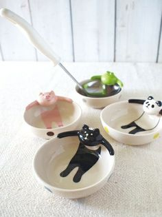 Fabulous Finds, bowls, dishes, jewelry dish, animal dish, cute bowls, kitchen design