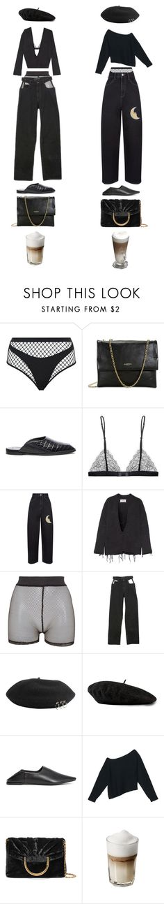 """""""Untitled #1046"""" by jayda-xx ❤ liked on Polyvore featuring Agent Provocateur, Lanvin, STELLA McCARTNEY, Maison Close, Maison Margiela, Bitching & Junkfood, Y/Project, Gucci, H&M and Alexander Wang"""