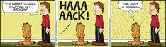 Jim Davis, I Robot, September 21, Fat Cats, Comic Strips, Hilarious, 21st, Humor, Comics