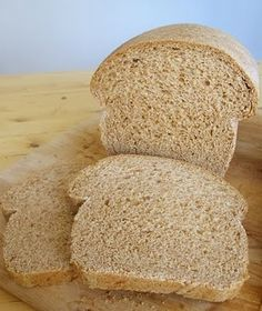 Whole-wheat sandwich bread recipe.  #bread #whole-wheat