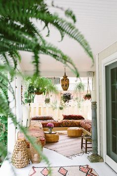 What does greenery add to your home? Warmth, color, interest, oxygen, and bohemian flair!