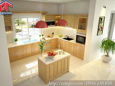Thiết kế tủ bếp cho những căn hộ chung cư với không gian nhỏ MTB-2016