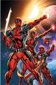 Deadpool corps unite