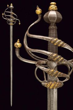 Pulchrum est Veritatis prædicatio — armthearmour: A fabulous Rapier bearing the mark. Swords And Daggers, Knives And Swords, Rapier Sword, Medieval Pattern, Sword Design, Arm Armor, Fantasy Weapons, Cold Steel, Blacksmithing