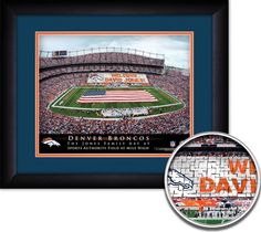 Use the code PINFIVE to receive an additional 5% discount off the price of the Denver Broncos NFL Personalized Stadium Print at SportsFansPlus.com