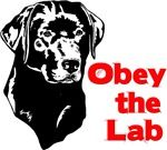 Obey the Labrador Retriever. (dog quote)