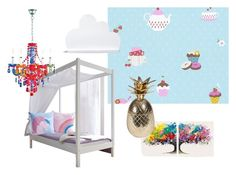 Sweet Dreams and Unicorns by ladendirekt on Polyvore featuring interior, interiors, interior design, home, home decor, interior decorating and Ananas