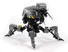 Lego mech by intrond/David Collins.  More robots here.
