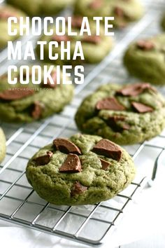 These cookies are perfect for your afternoon tea time. Healthy Desserts, Healthy Drinks, Fun Desserts, Matcha Cookies, Best Matcha, Green Tea Powder, Cookies Et Biscuits, Afternoon Tea, Crack Crackers