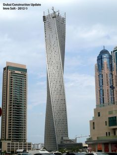 Infinity Tower in Dubai
