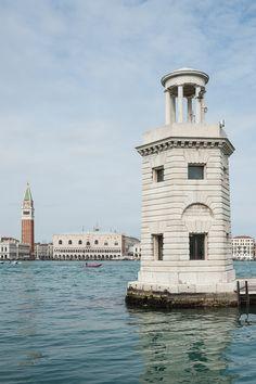Darsena, isola di San Giorgio Maggiore, Venezia, Italia