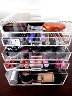 Qvc Makeup Organizer Fascinating Tabletop Spinning Cosmetic Organizerlori Greiner  Pinterest
