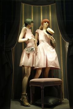 The World's Fashion Windows, Online in Real-Time · Chanel, New York,  January 2013