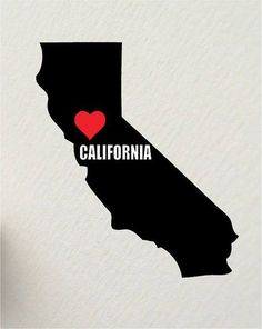 I love California! Moving To California, California Dreamin', Los Angeles California, Northern California, I Love La, Cali Girl, San Diego, San Francisco, Where The Heart Is