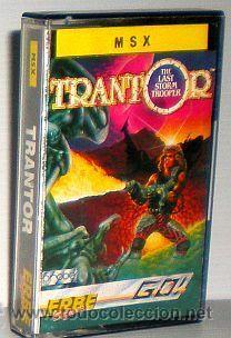 Trantor: The Last Stormtrooper [Go!] 1987 PROBE / Erbe Software [MSX]