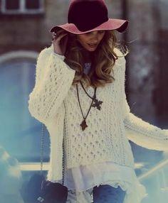 Fall Hat & Sweater
