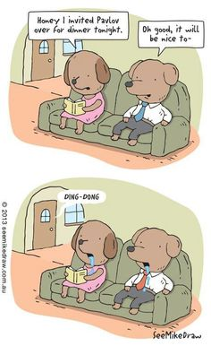 Seriously can't get enough of these Pavlov jokes! XD