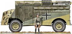 """Engines of the Wehrmacht - """"Max"""", AEC """"Dorchester"""" 4x4, Armoured Command Vehicle"""