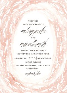 wedding invitations - Dreamy Vows by Anupama