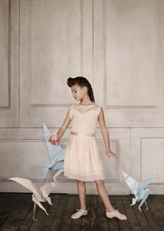 Pale Cloud Summer Girlswear 2014