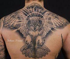Belagoria   la web de los tatuajes : Tatuajes de búhos: significado e ideas originales