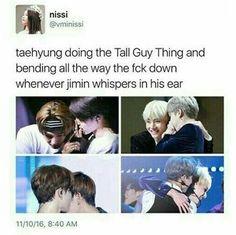 Tae is so considerate isn't he XD