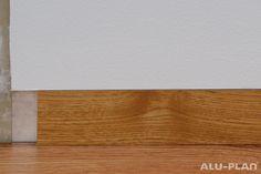 Produktdetails Sockelleiste Aluminium Unterschnitten - B2/H für Holz- / Laminateinlage - ALU-PLAN® – Deutschland