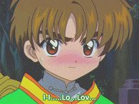 my stuff cardcaptor sakura syaoran card captor sakura kero i will frick u up :3 THIS IS THE FIRST TIME HE TRIED TO CONFESS WHAT A CUTIE SOME OF THE GIFS GOT MESSED UP I Have Given Up