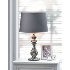 "Zingz & Thingz Revamp 18.38"" H Table Lamp with Empire Shade"