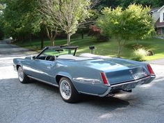 The 1967-70 Eldorado never came as a convertible but several customs like this one have surfaced over the years.