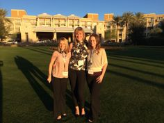 Dr Humphrey and two of our Orthodontic Therapists, Marie and Louisa at the Damon Forum in Arizona.