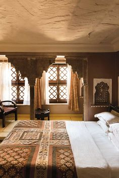 Indian bedroom