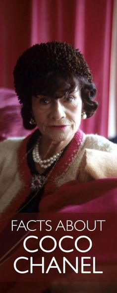 Here are 15 facts you didn't know about famous fashion designer, Coco Chanel. Read on. Channel Jacket, Mademoiselle Coco Chanel, Gabrielle Bonheur Chanel, Chanel Brand, Chanel Resort, Chanel Couture, French Fashion Designers, The Most Beautiful Girl, Look Alike