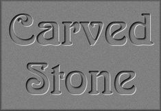 Pixelating Graphics & Design© Carved Stone Tutorial