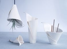 Porcelain ceramic collections by Vanillakiln