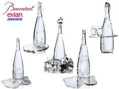 If It's Hip, It's Here: Baccarat & Jean Paul Gaultier's 5 Haute Couture Evian Bottles