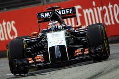 Nico Hulkenberg, Force India, Singapore, 2014 practice