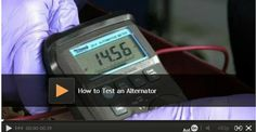 How to Test an Alternator: If you have a newer battery, but your car won't start, you may have a bad alternator. Rick Muscoplat, an automotive expert at The Family Handyman, will show you how to test an alternator. Watch video: http://www.familyhandyman.com/automotive/how-to-test-an-alternator/view-all