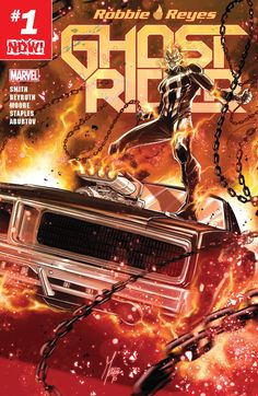 Marvel have announced details on a brand new Ghost Rider comic book is coming in November. GHOST RIDER Brings Vehicular Vengeance to Marvel NOW! Arte Dc Comics, Marvel Comics Art, Marvel Comic Books, Comic Book Characters, Marvel Characters, Comic Character, Ghost Rider 2016, Ghost Rider Marvel, Hq Marvel