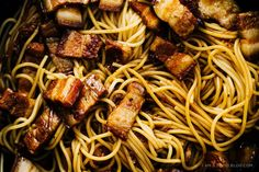 Vietnamese Caramelized Pork Belly Pasta | 27 Pasta Recipes To Help You Survive The Winter