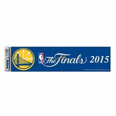 Golden State Warriors WinCraft The Finals Bumper Strip - Click to enlarge
