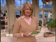 Martha Stewart introduces chef Shannon Bennett who shares his secret for freezing fresh tarragon.