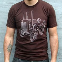 Clothing  Men's Tshirt  Screenprinted by LocomotiveClothing, $24.00