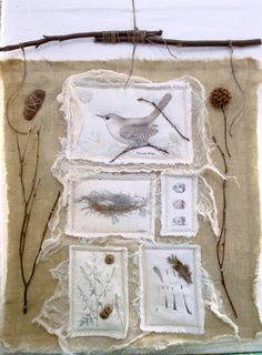 Artwork ~ from The Feathered Nest.