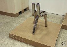 "Line Chair by Toni Grilo (""How do we pronounce design in portuguese?"" exhibition - MUDE, Lisbon)"